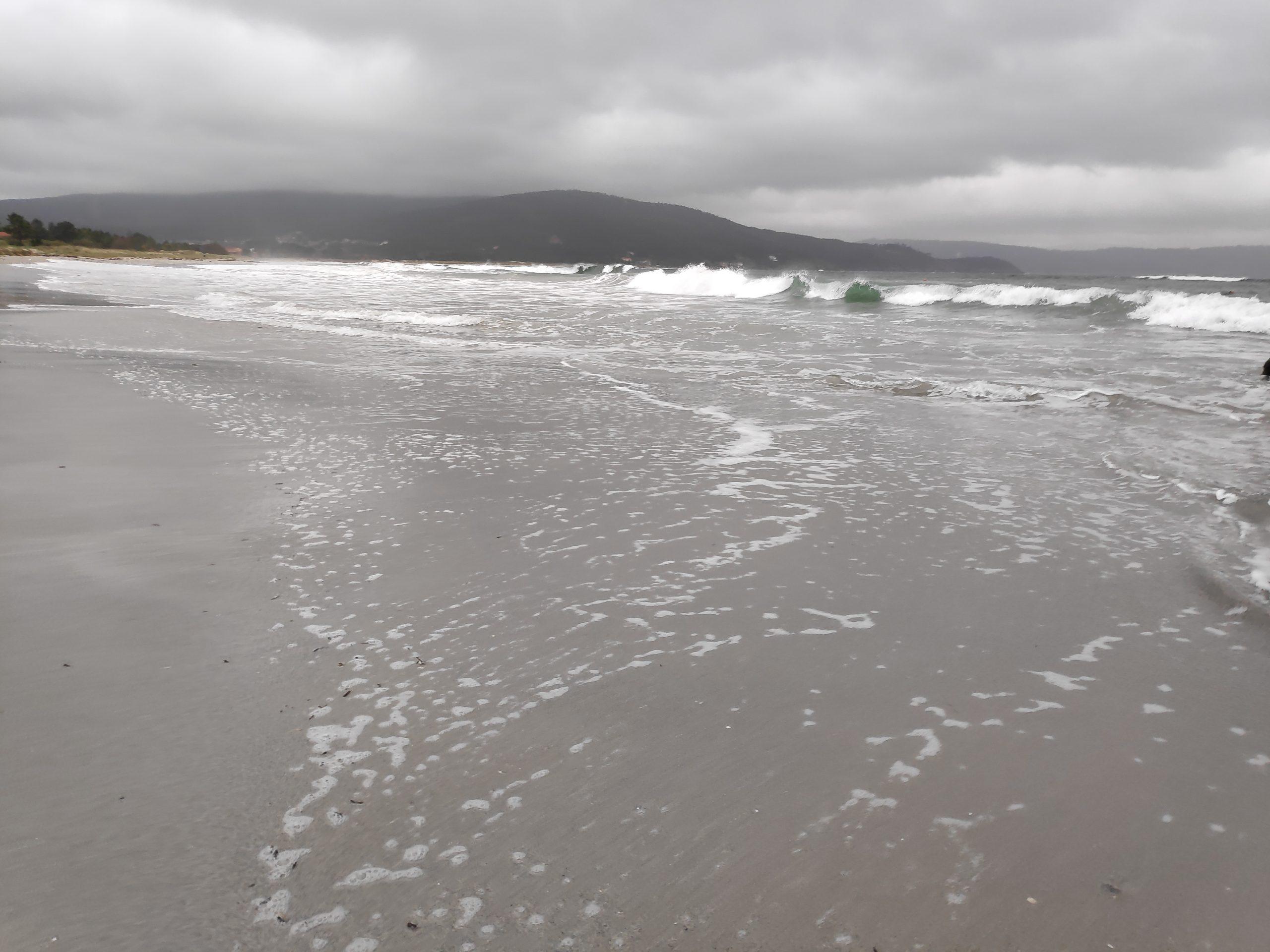 Atlantic Ocean in the morning.
