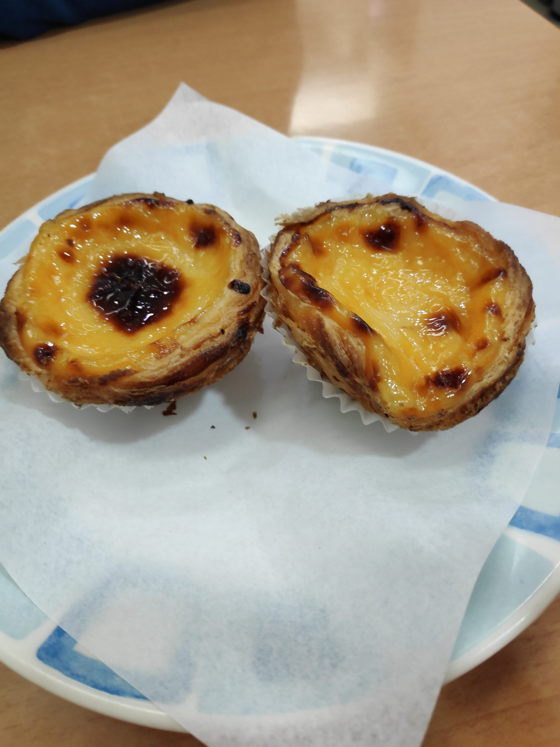 Pasteis de nata, they also come with different flavors.