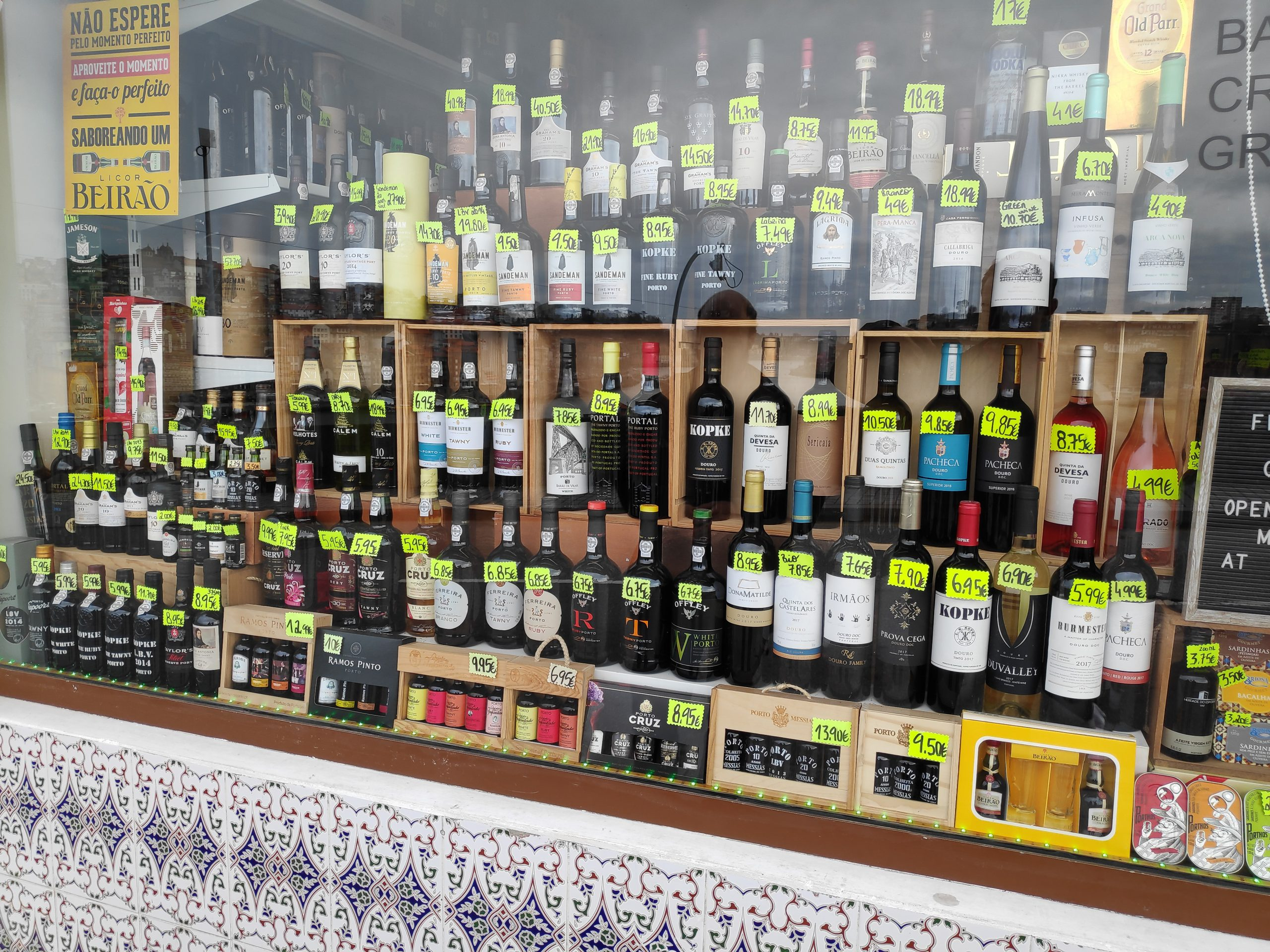 There are a couple of stores that specialize in Porto wine. You can get it as cheaply as 5€ or go into thousands of € per bottle.