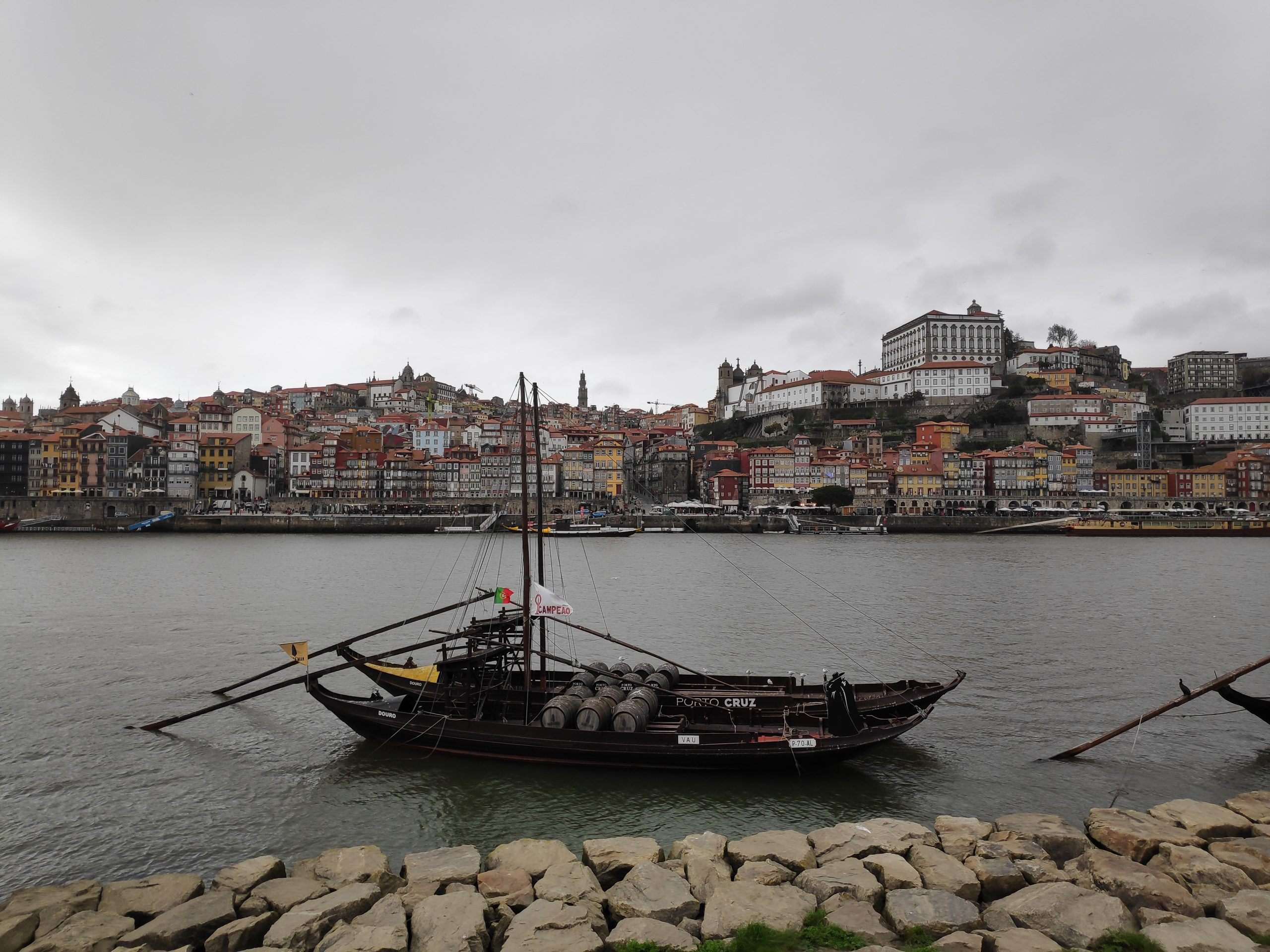 One of the more famous cellars. I think they bring either grapes or something on the river to the cellar, which is located in Porto.
