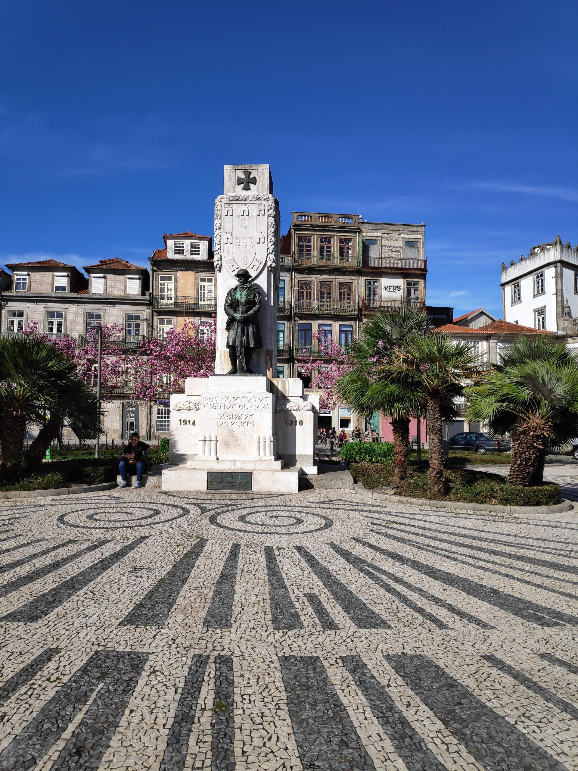 Memorial for WWI.
