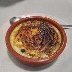 Some sort of Portuguese crème brulé.