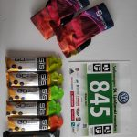 Snack pack. Chocolate bar for before the rest and gels for during the race.