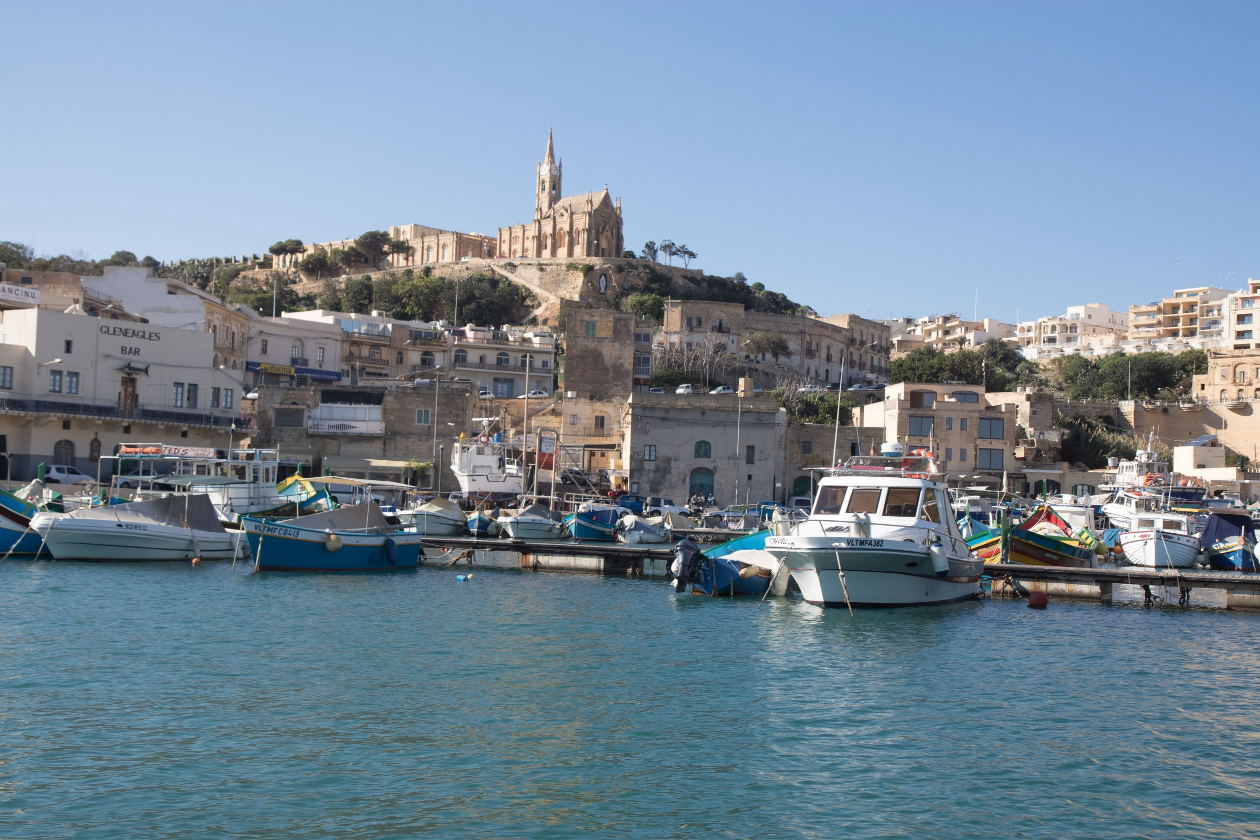 Maggar, entry point of Gozo.