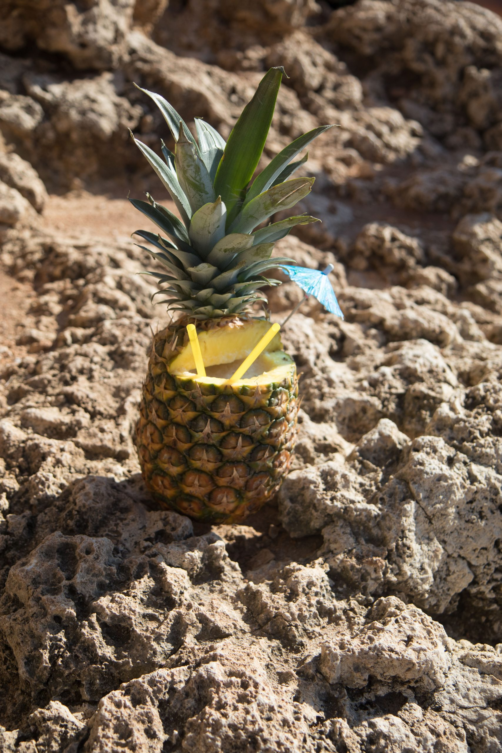 Pineapple drink - and no, its not pinna collada.