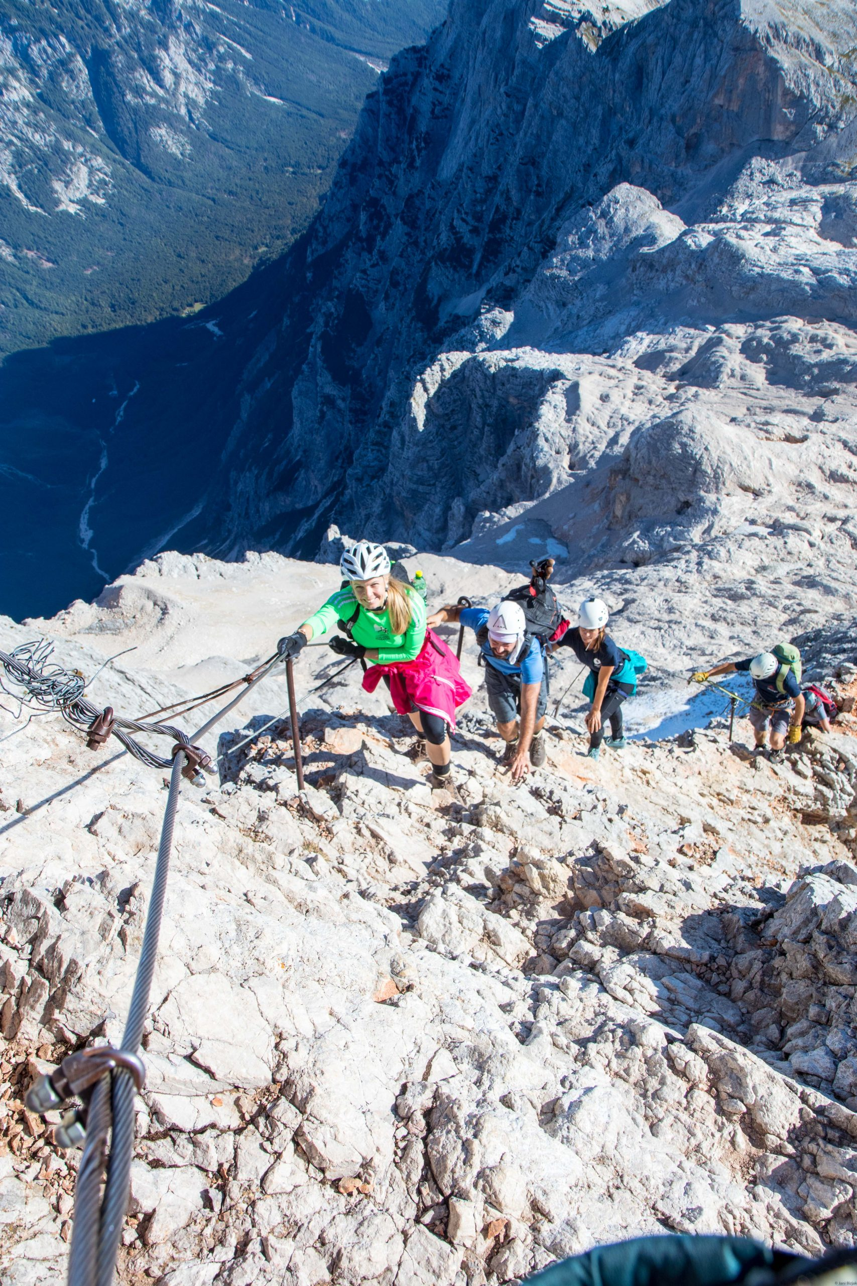 Last climb before the summit.