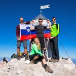 Highest mountain of Slovenia, Triglav (2864m), 5th time.