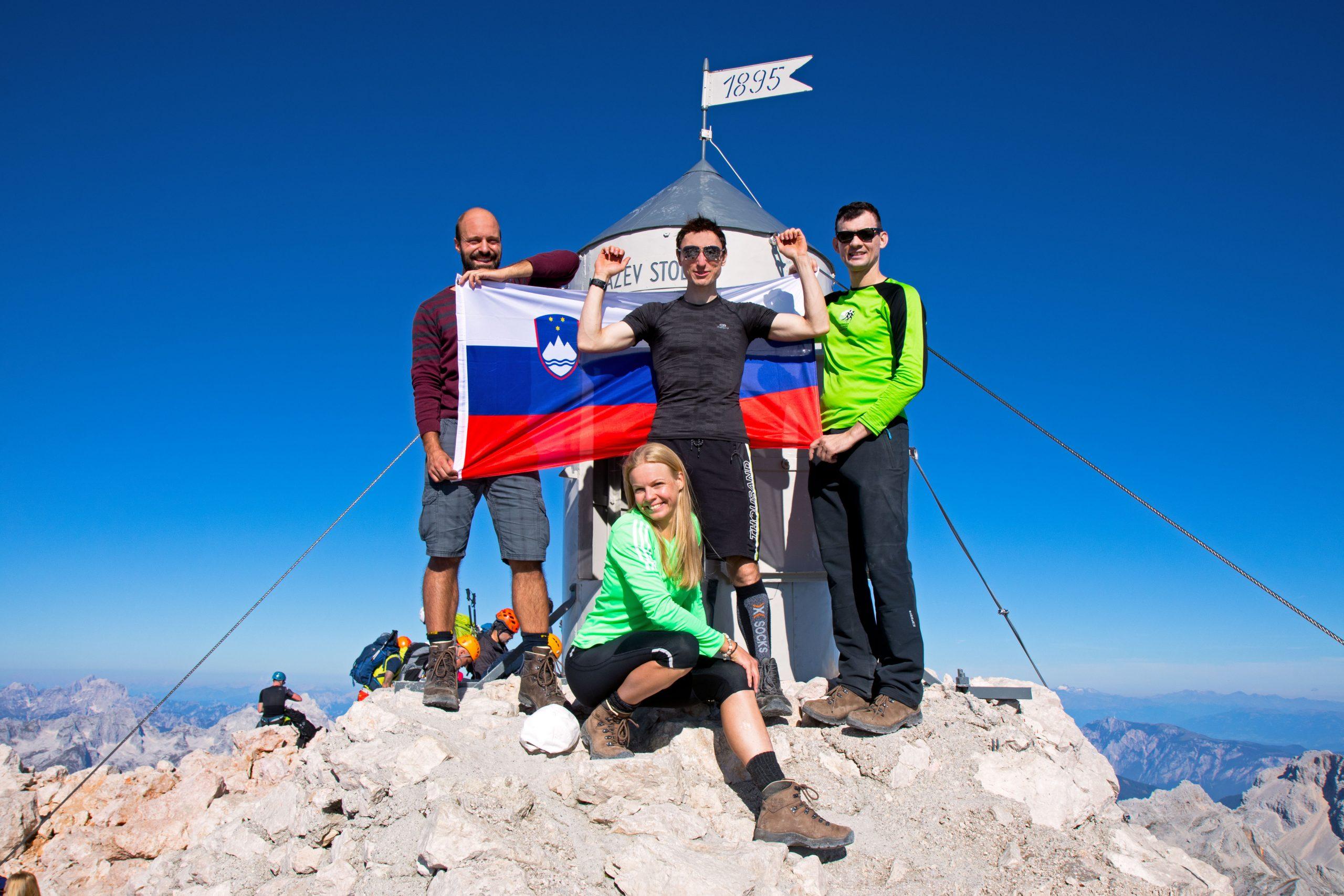 Highest mountain of Slovenia, Triglav (2864m), 5th time.
