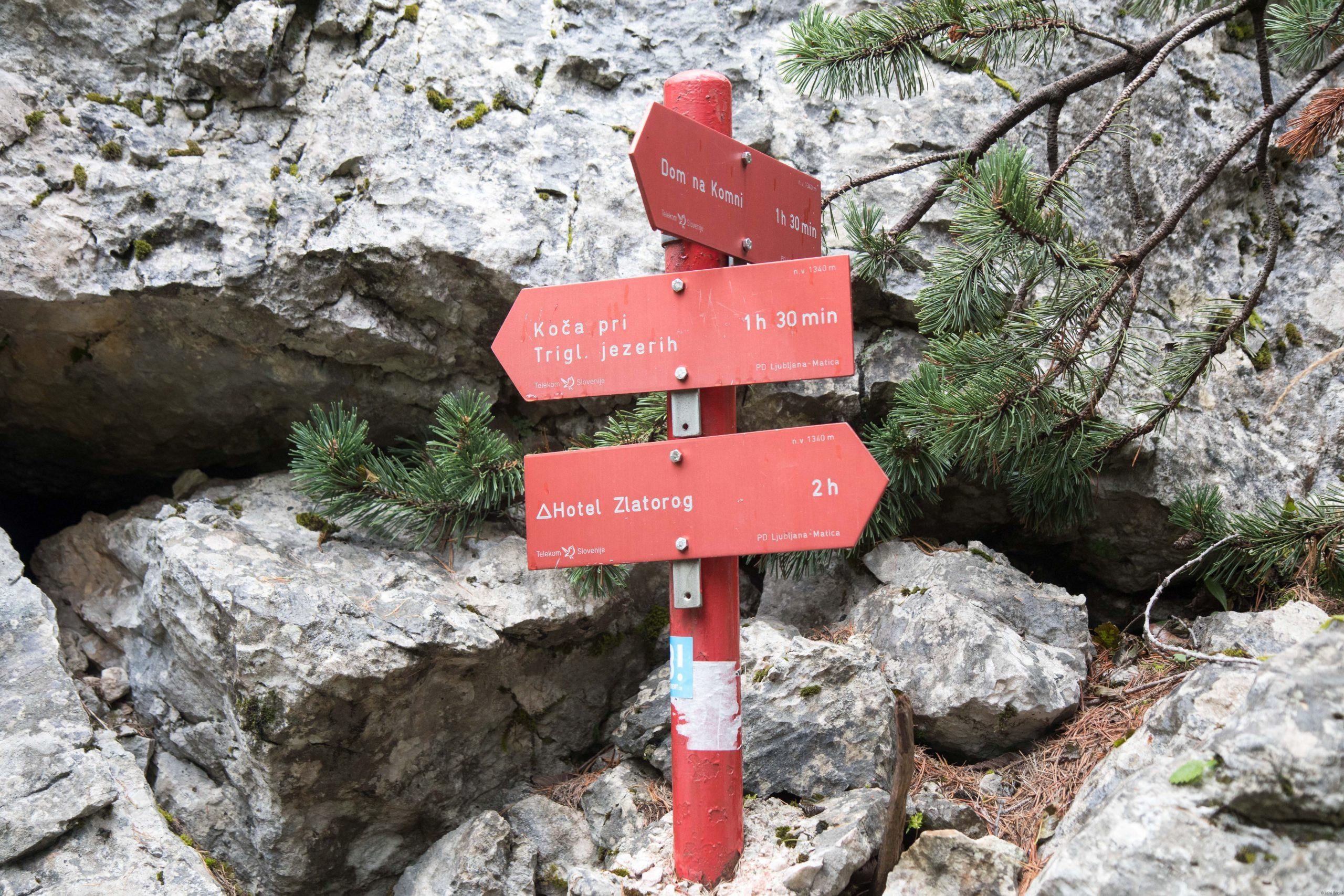 At the top of the Komarča.