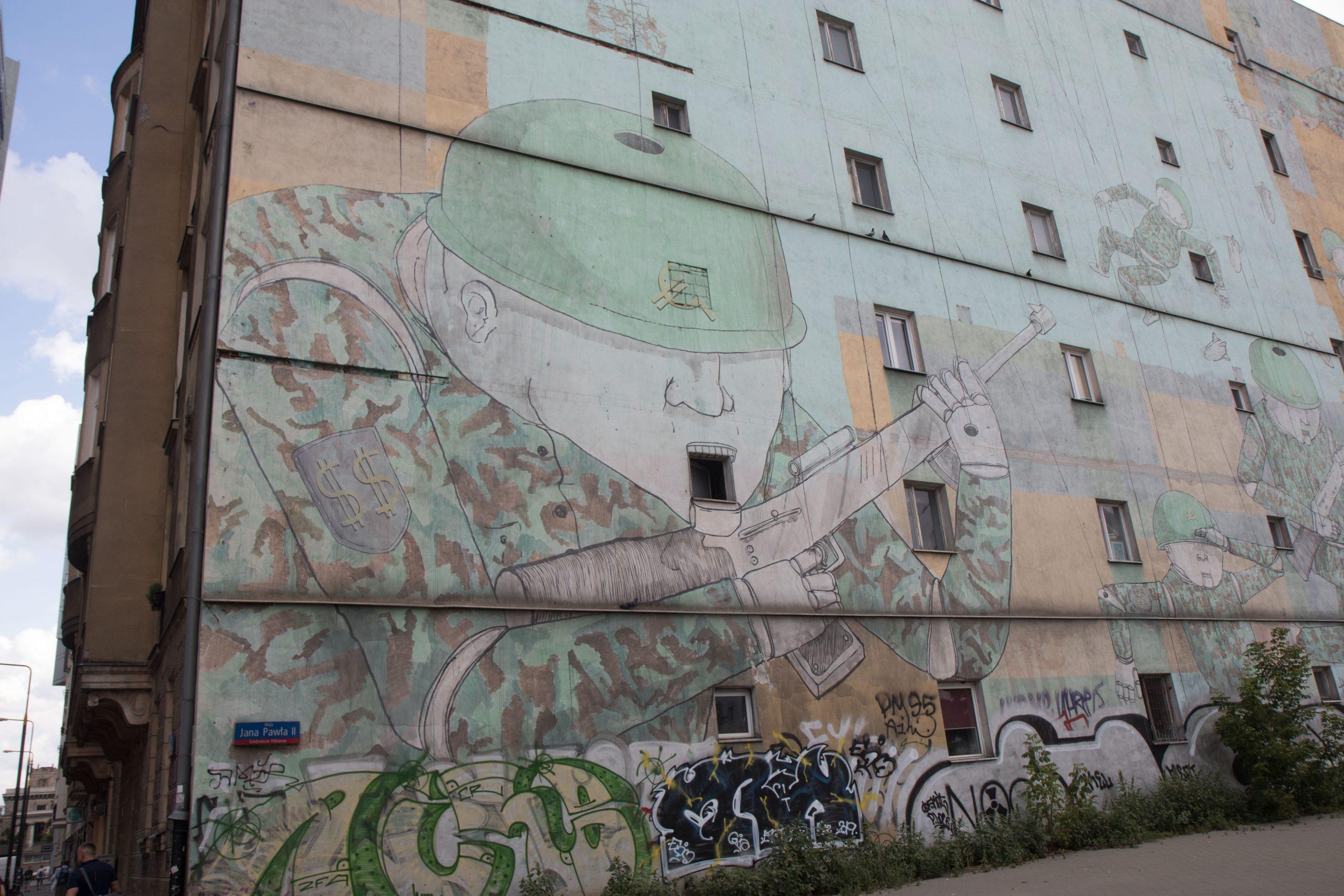 Some interesting graffiti near my place.