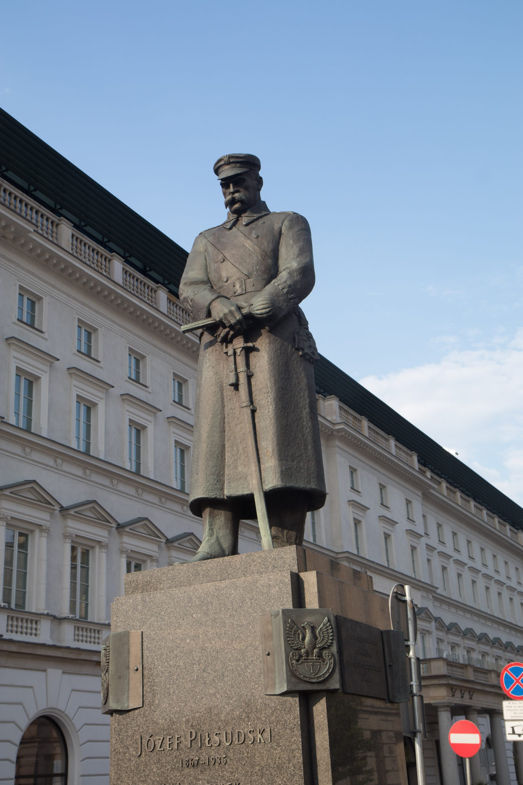 Another statue of a soldier, it may look like Stalin, but it's not.